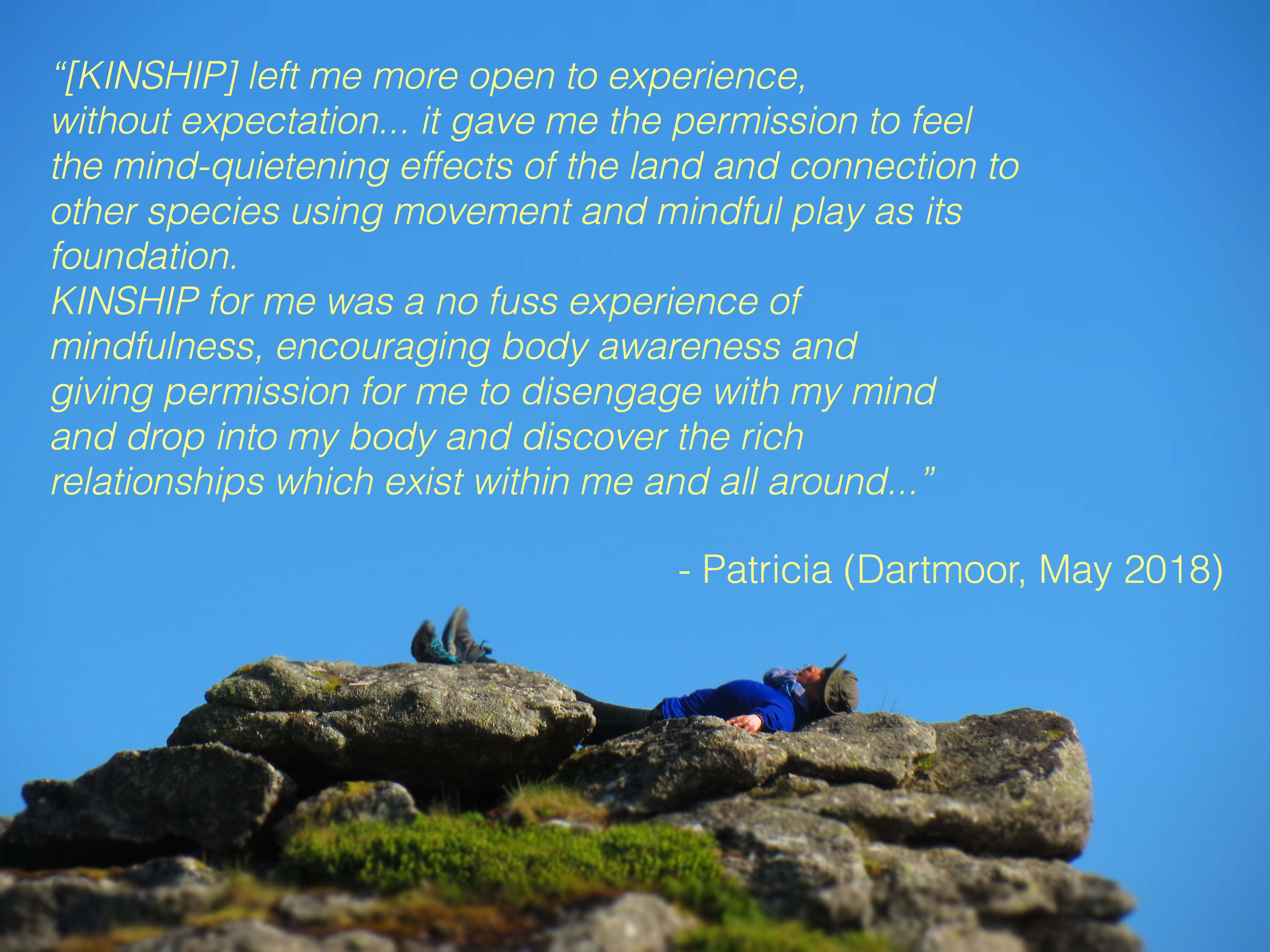 Participant Patricia's thoughts on Kinship Workshop